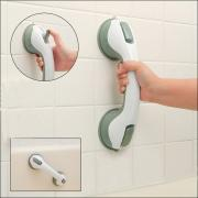 Jeobest 1PC Bathroom Shower Grip Handle - Shower Handle Bar Offers Safe Grip with Strong Hold Suction Cup for Safety Grab in Bathroom , Shower , Toilet Handrail Handle Bath Aids  MZ
