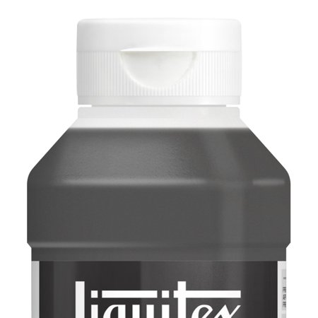 Liquitex Professional Black Gesso Surface Prep Medium Bottle, 8-Oz