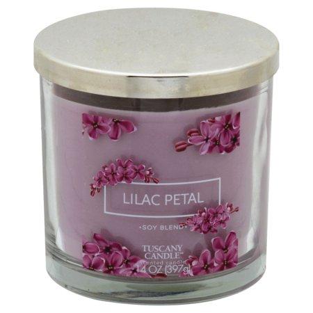 Tuscany Petal (Tuscany Lilac Petal Candle, 14 Ounce)