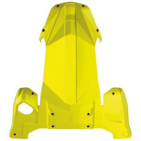 Body Skid Plate - Ski-Doo New OEM Full Body Skid Plate, Sunburst Yellow REV G4, 860201441