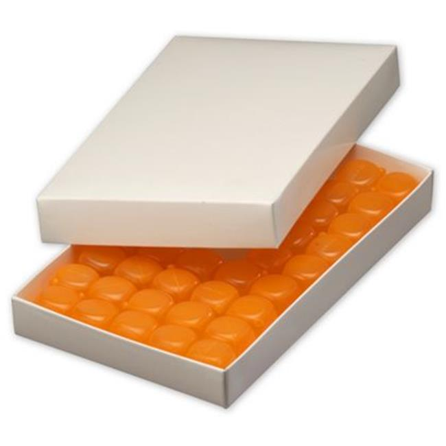 Deluxe Small Business Sales 292-090501-9 9.38 x 5.63 x 1.13 in. One-Piece Candy Boxes, White