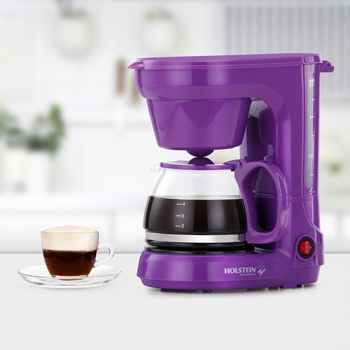 Holstein Housewares 3-Cup Coffee Maker