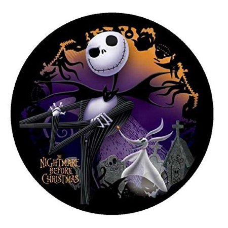 Nightmare Before Christmas Edible Image Photo Sugar Frosting Icing Cake Topper Sheet Personalized Custom Customized Birthday Party - 8