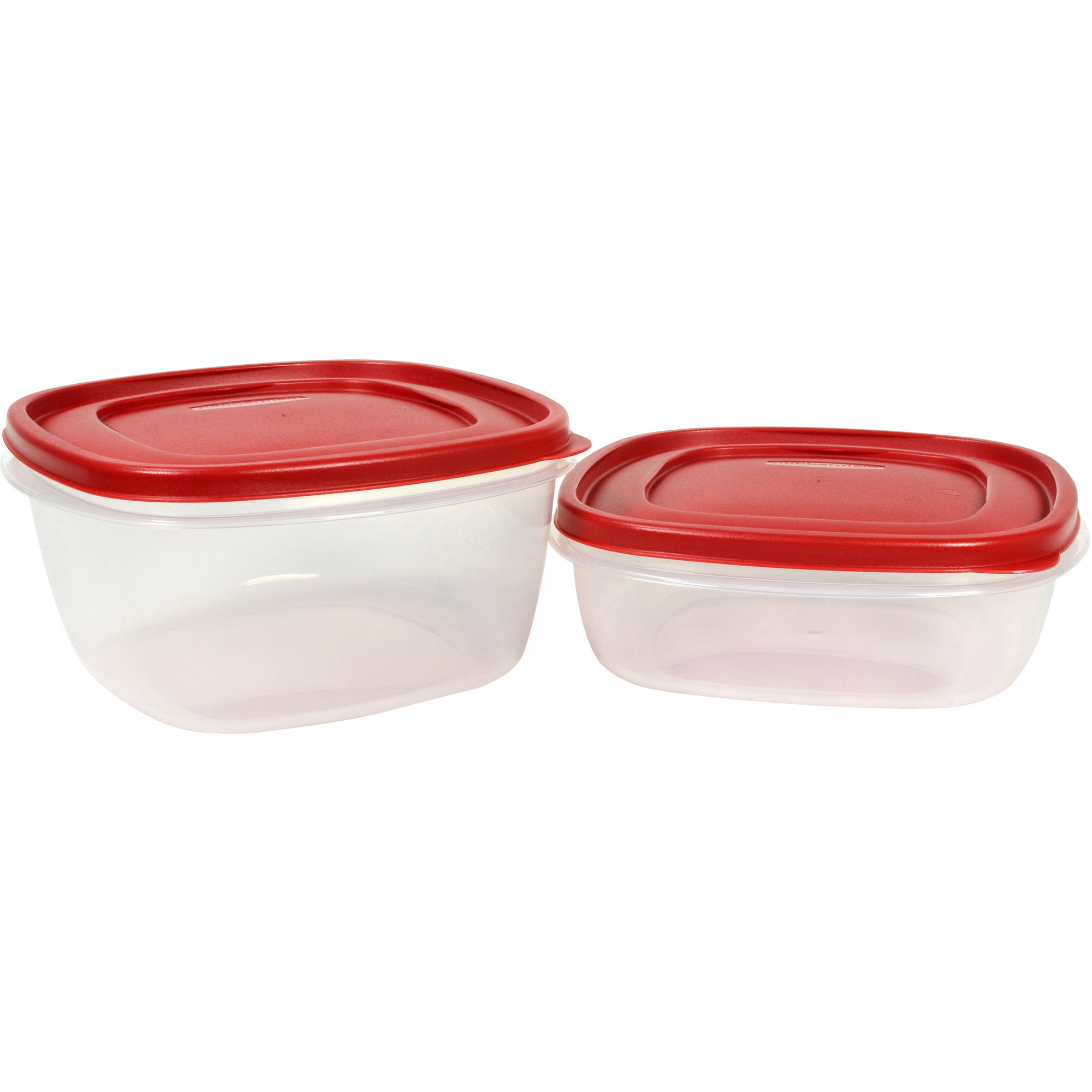 Newell Rubbermaid Rubbermaid Easy Find Lids Food Storage Container, 9 Cup and 14 Cup, 2pk