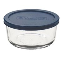 Anchor Hocking Glass 4-cup Round Food Storage Bowl with Lid