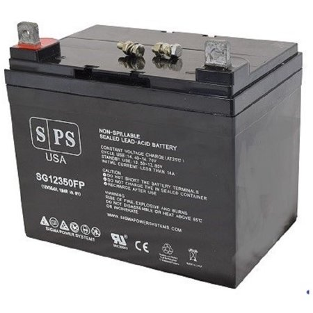 SPS Brand 12V 35Ah Replacement battery for Quickie Z500 PediatricBEC 40 Series