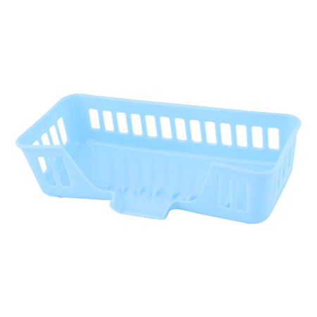 Family Kitchen Plastic Hollow Out Cleaning Tool Tableware Storage Basket (Tableware Storage)