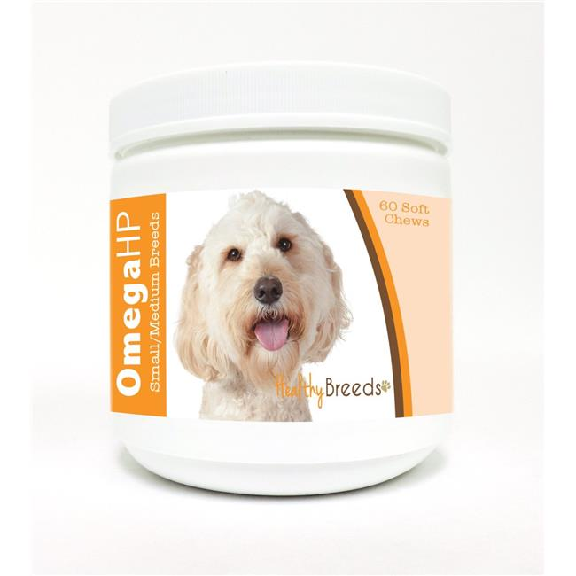 Healthy Breeds Labradoodle Omega HP Fatty Acid Skin and Coat Support Soft Chews