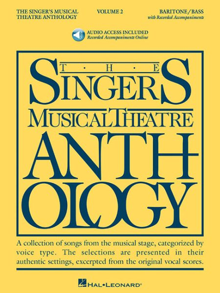 The Singer's Musical Theatre Anthology by