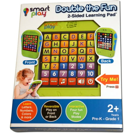 Smart Play Double the Fun 2-Sided Learning