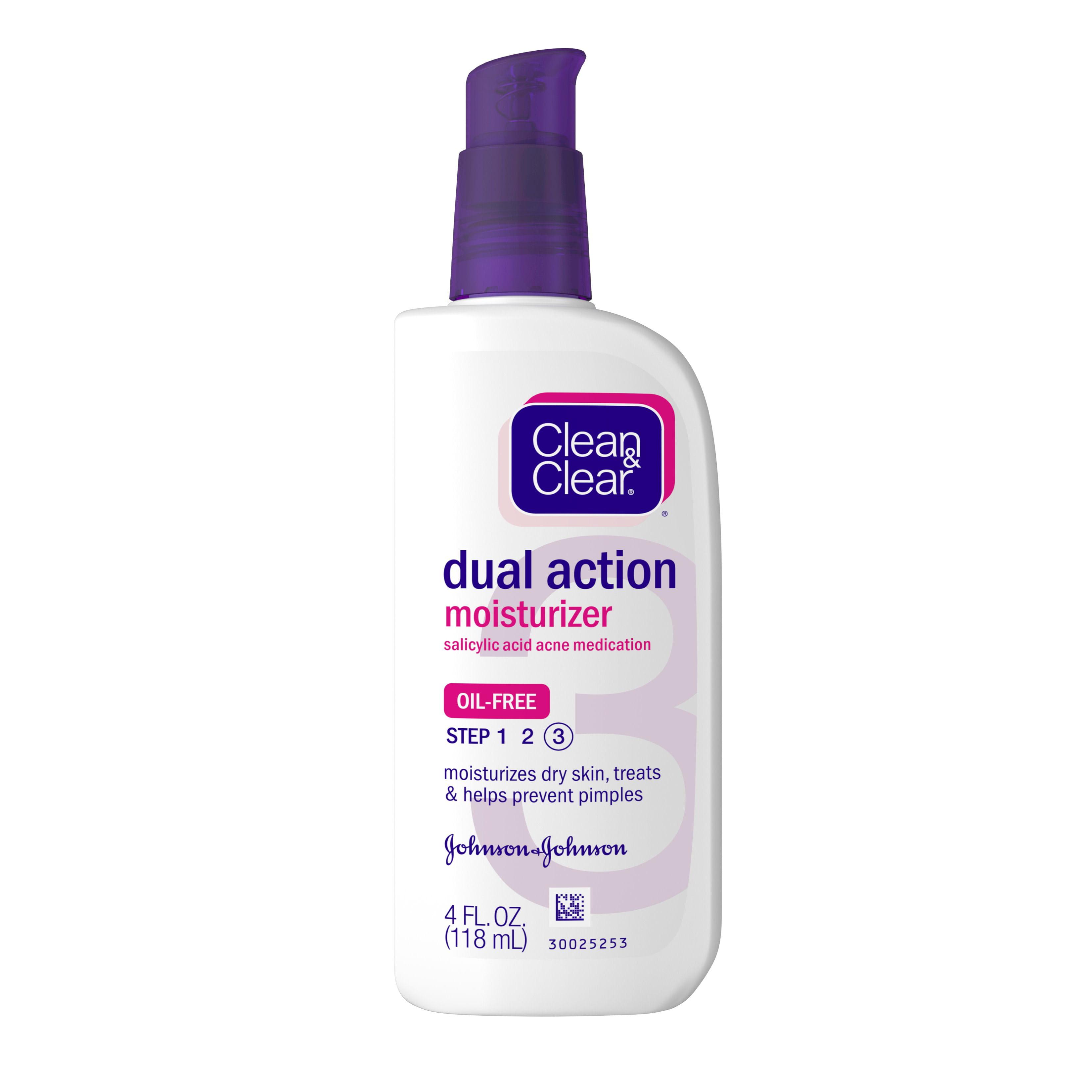 Clean Clear Essentials Facial Moisturizer With Salicylic Acid Acne Medicine Acne Treatment 4 Fl Oz Walmart Com Walmart Com
