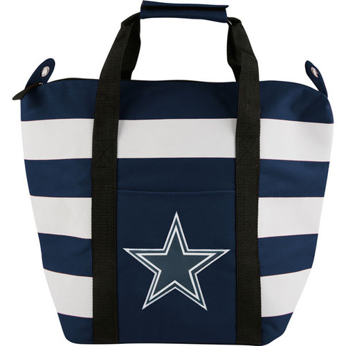 NFL - Dallas Cowboys Freeze Striped Cooler Tote Bag