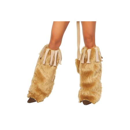 Adult Lioness Leg Warmers Roma LW4263