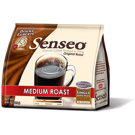senseo medium roast coffee pods 18 ct. Black Bedroom Furniture Sets. Home Design Ideas