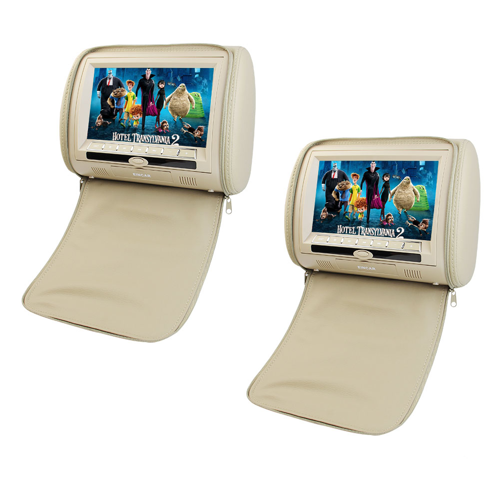 Headrest Monitor Eincar 9 Inch HD Digital TFT LCD Screen ...