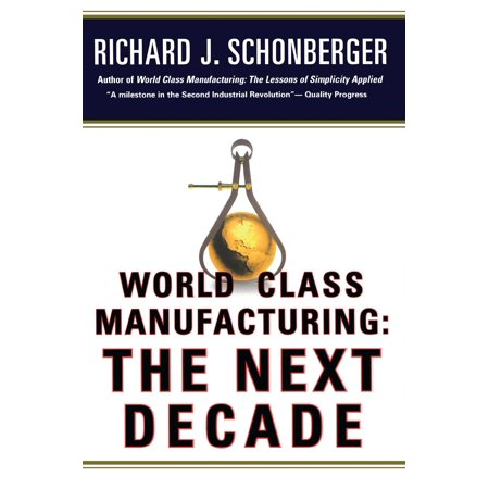 World Class Manufacturing  The Next Decade  Building Power  Strength  And Value