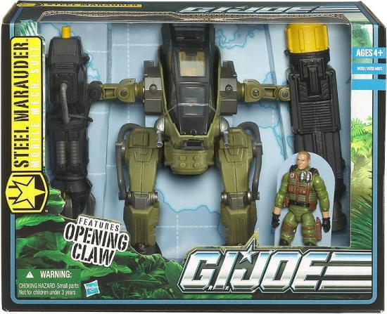 GI Joe Pursuit of Cobra Steel Marauder [Mobile Mech Suit] by Hasbro Inc.