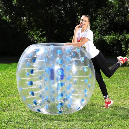 1.5M/5FT Bump N Bounce Body Bumpers Body Belly Bumper Suit Bubble Bumper Balls Spring Summer Inflatable Air Backyard Toy ()