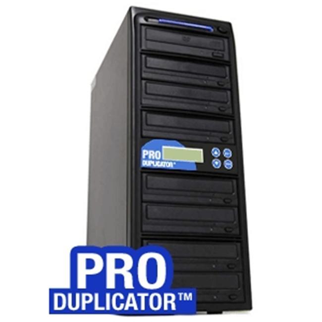 Produplicator A8DVDS24X320G 1-8 Target SATA 24x CD DVD External Burner Duplicator Plus 500GB HDD USB 2.0 Connection