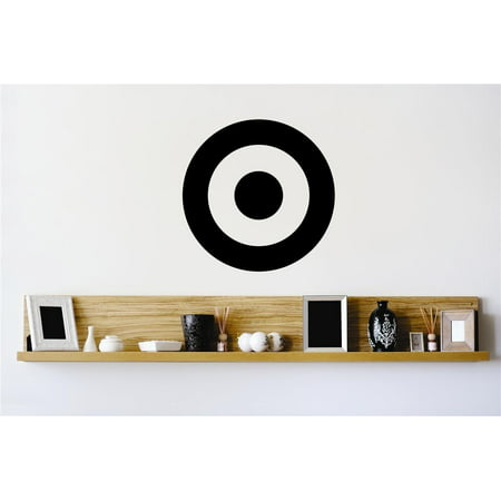 Top Selling Decals   Prices Reduced   Bullseye Shooting Range Target Wall Sticker   12 X12