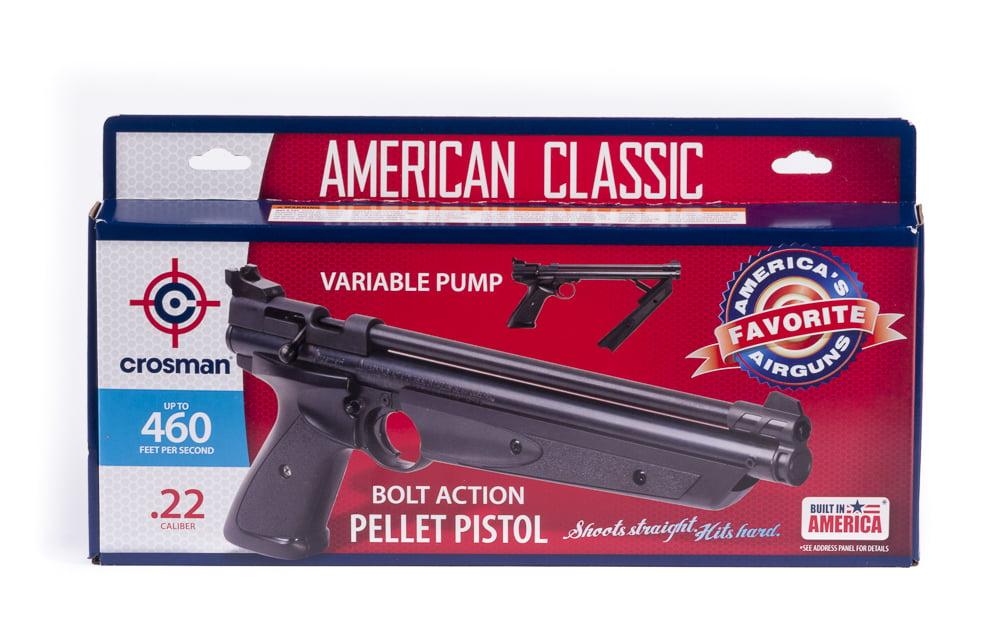 Crosman American Classic .22 Caliber Pistol Kit P1322KTE by