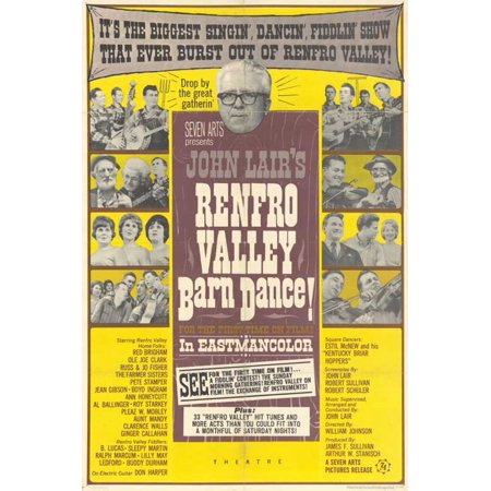 Renfro Valley Barn Dance POSTER Movie Mini Promo - Barn Dance Theme
