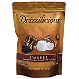 Drizzilicious Crisps! Crunchy Drizzle Bites With Rice, Chia, Quinoa & Flax! Only 90 Calories Per Serving! Choose From S'mores Or Cinnamon Swirl! 4oz Package! 1 Pack! (Cinnamon Swirl)