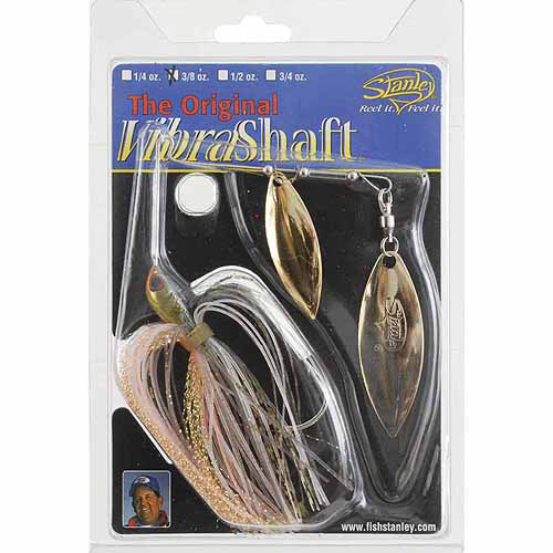Stanley's The Original Vibra Shaft, 3/8 oz, Bream Orange Glow