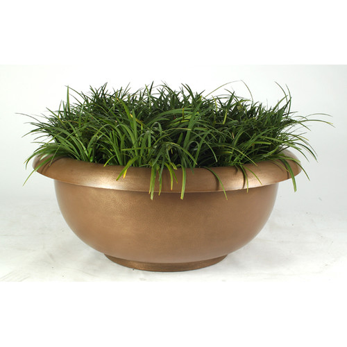 Allied Molded Products Galleria Plastic Pot Planter