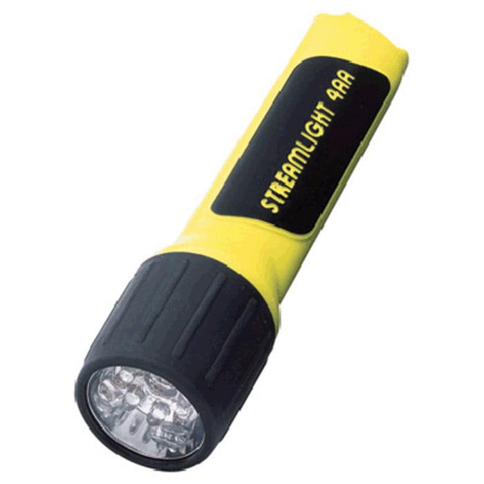 Streamlight Propolymer 4AA 68202 LED Flashlight 67 Lumens Yellow by Streamlight Inc