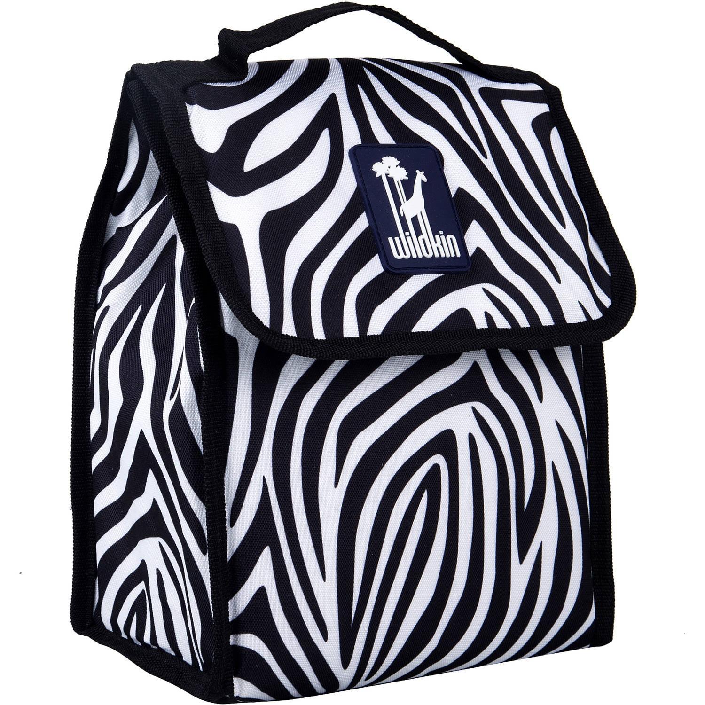 Zebra Munch 'n Lunch Bag