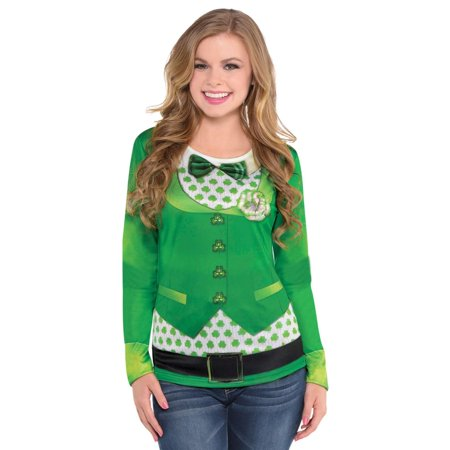 St. Patrick's Day Long Sleeve Top - St Patrick's Day Costume Ideas