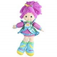 "hallmark rainbow brite stormy stuffed plush kid3469, 16"", multicolor"