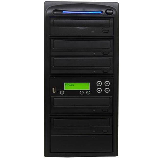 Produplicator PUSBMDSC04 1-4 USB Flash Memory Card to M-Disc Support Data Backup CD & DVD Duplicator