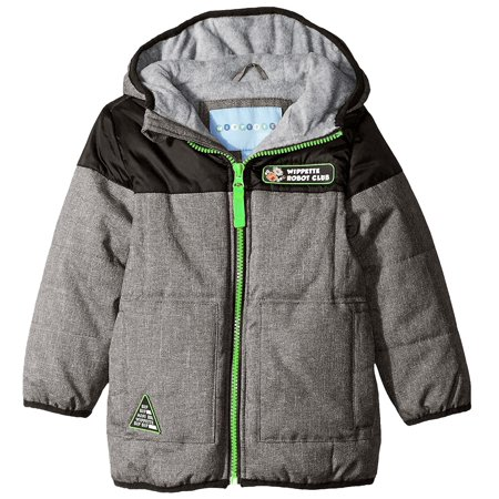 Puffer Robot Cire Boy Hooded Club Wippette Winter YD Coat Toddler q1Czwa