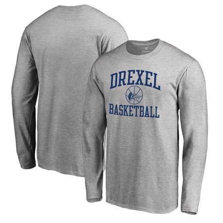 finest selection 9cce1 cdf5a Drexel Dragons Fanatics Branded In Bounds Long Sleeve T-Shirt - Heathered  Gray