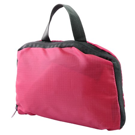 Lightweight Packable Outdoor Travel Backpack Hiking Camping Daypack Bag Fuchsia - image 3 de 4
