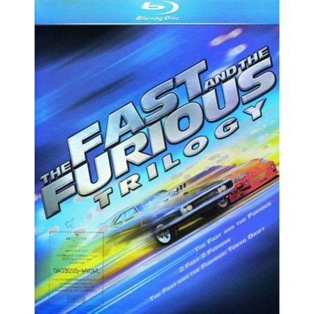 The Fast And The Furious Trilogy  The Fast And The Furious   2 Fast 2 Furious   The Fast And The Furious  Tokyo Drift  Blu Ray   Widescreen