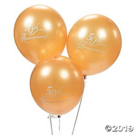 50th Wedding Anniversary Balloons (50th Wedding Anniversary Latex)