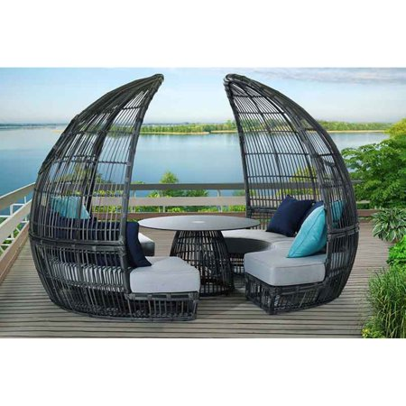 Sunnest Calypso Patio Dining Booth