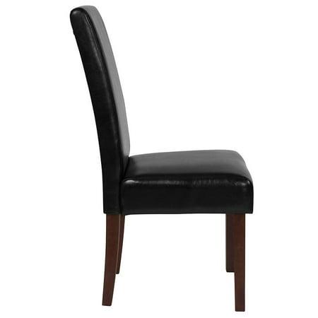 Lt Gray Fabric Parsons Chair - image 1 de 8