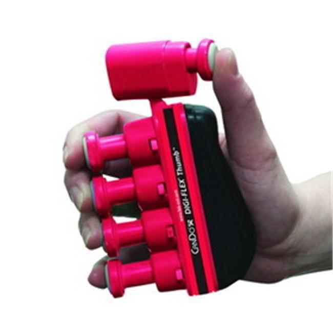 Fabrication Enterprises 10-3762 Digi-Flex Thumb, Red