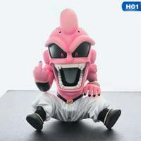 KABOER Dragon Ball Z Action Figure, Majin Buu Felisa Nendoroid PVC Figure/Vinyl Figure/Collectible for Anime Lovers, 12cm