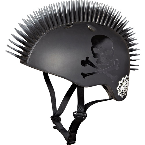 Krash Jolly Roger Mohawk 3D Helmet, Youth