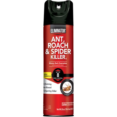 Eliminator Ant, Roach & Spider Killer, Aerosol Spray, 20