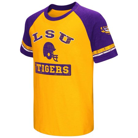 Youth Short Sleeve LSU Tigers Louisiana State Graphic -