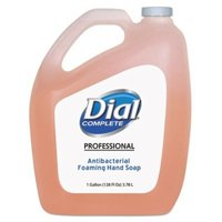 Dial Corporation Foaming Hand Soap Refill, 1 Gal., 4/Carton, Clean Scent 99795CT