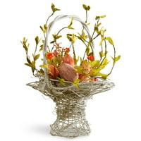 """14"""" Handcrafted Easter Basket"""
