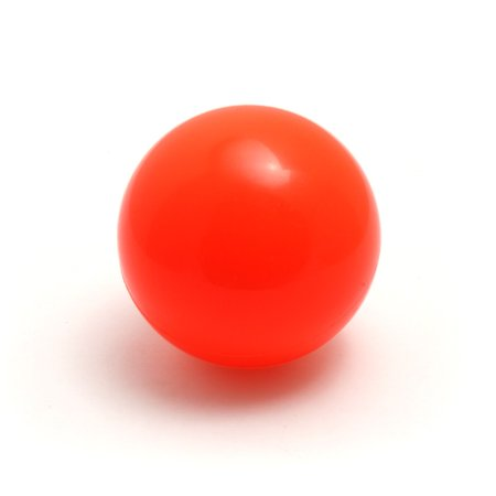 Play Stage Ball for Juggling 62mm 75g- (1) (Orange)