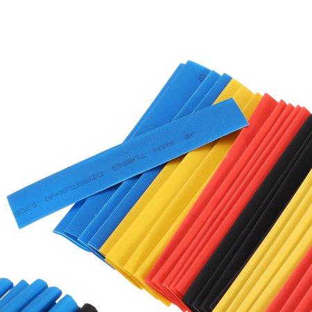 328pcs Polyolefin Heat Shrink Tubing Insulation Electrical Shrinkable Tube Sleeve Cable 2:1 - image 2 of 7